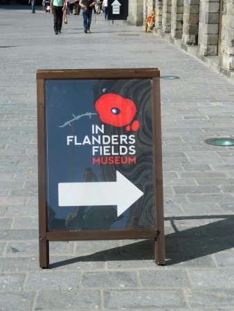 Museo In Flanders Fields: The start of a fantastic 3 hours