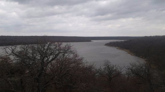 Lake Mineral Wells State Park: Lake Mineral Wells.