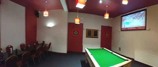 Eastwood Snooker Bar U0026 Lounge: Lounge With Wide Screen