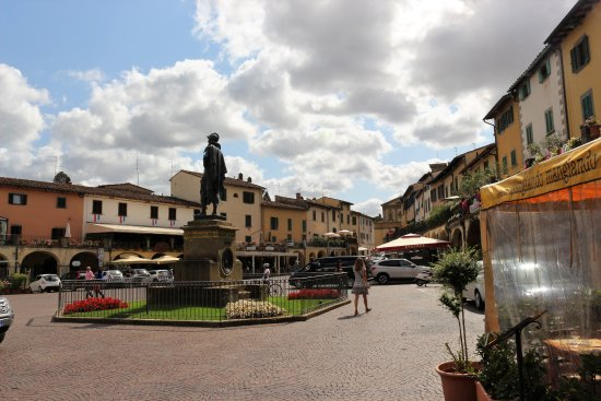 Greve in Chianti, Włochy: The Square