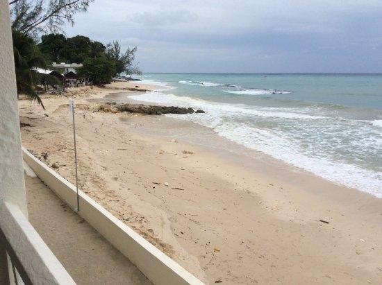 Holetown, Barbados: Taken after storm left