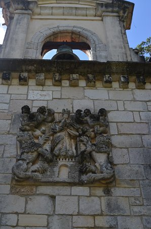 North Miami Beach, FL: Above the monastery entrance