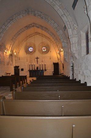 The Ancient Spanish Monastery : Inside Chapel