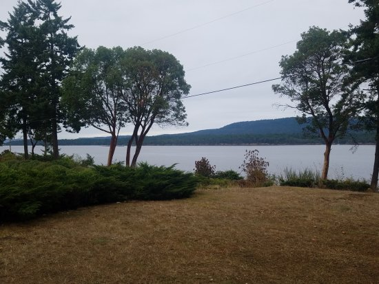 Salt Spring Island, Canada: View from Deck of Cabin 10