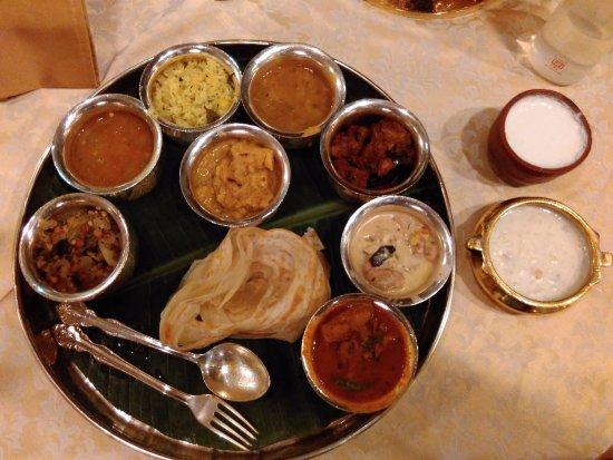 Dakshin: The nonvegeterian South Indian thali