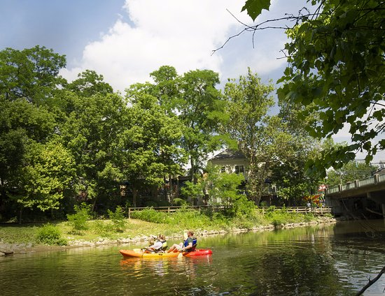 Creekside Park: Big Walnut Creek is a great place to kayak