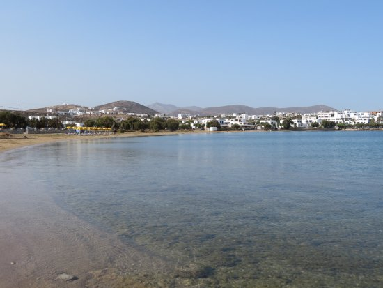 Naoussa, กรีซ: ein Strandspaziergang tut auch gut