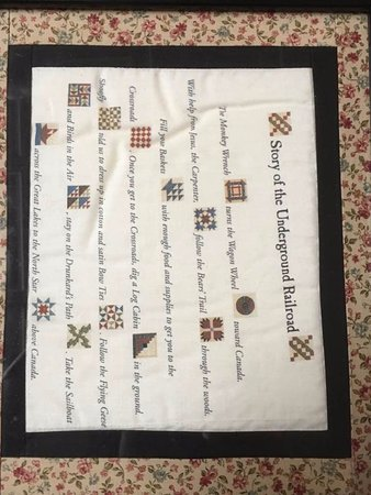 First African Baptist Church: Translation of quilt mappings used as part of the Underground Railroad System