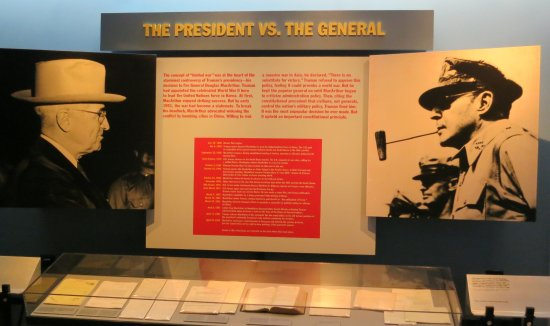 Independence, MO: Truman asserts his authority over McArthur when the general tries to undermine him during Korean