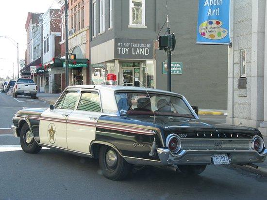 Mount Airy, Carolina del Norte: Squad Car Tours