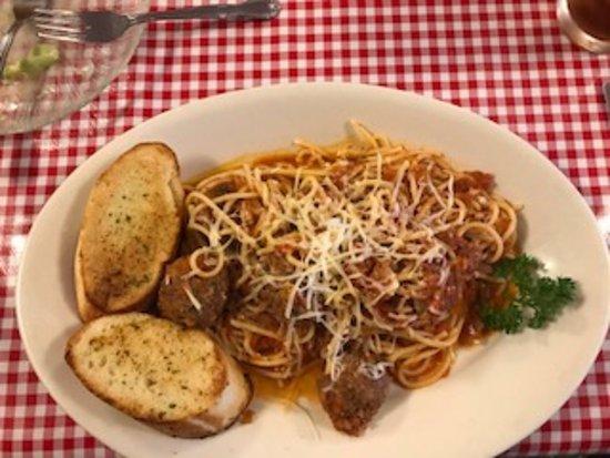 Spaghetti meatballs picture of amada 39 s american for American italian cuisine