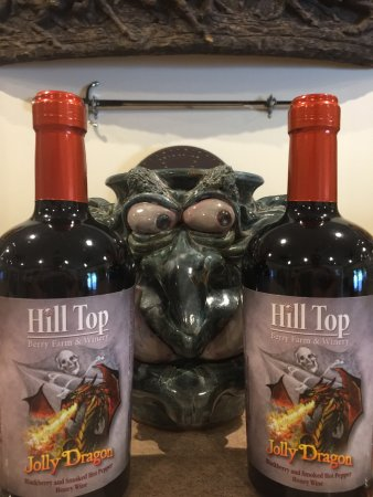 Nellysford, VA: Jolly Dragon (smoked pepper blackberry mead)