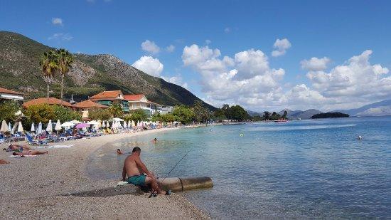 Avra Beach Hotel: Nidri beach
