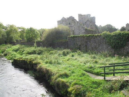 County Kilkenny, Ireland: Wanderweg von der Priory zur Mühle