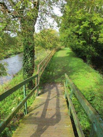 County Kilkenny, Ireland: Wanderweg zur Mühle