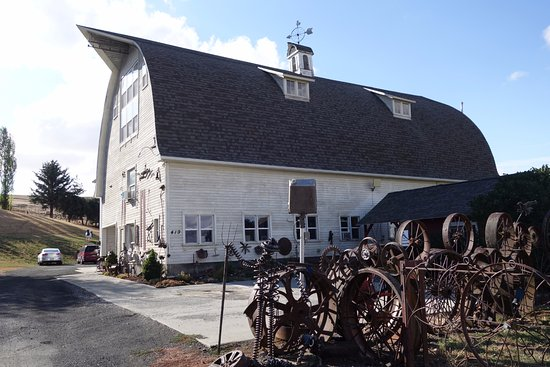 Uniontown, WA: Dahmen Barn