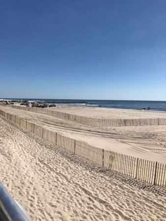 Long Beach, État de New York : Beach right out front