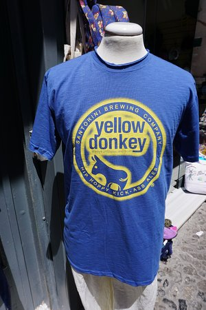 Santorini Brewing Company : Donkey beer is a very popular beer in Santorini Greece - dont miss