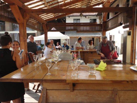 Casalgrasso, Italie : aperitivo