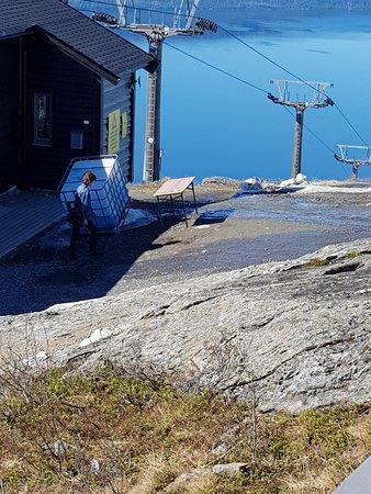 Narvik, Norge: Her kommer gondolbanen inn