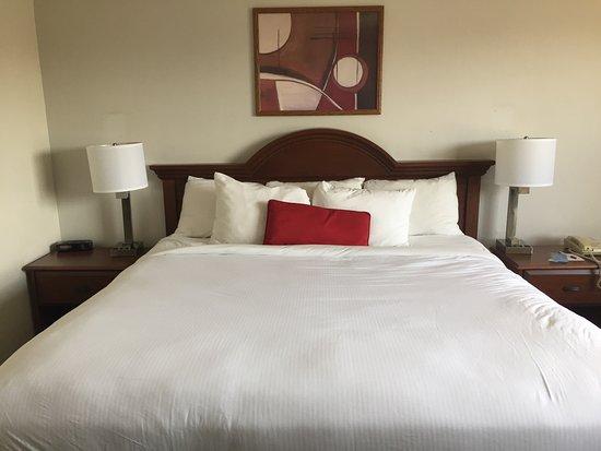 Ramada North Spokane: Comfy mattress