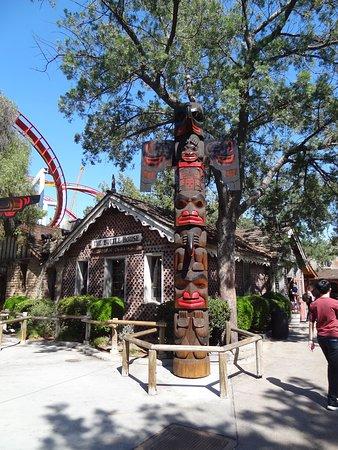 Buena Park, Kalifornia: Ambientacion del Parque