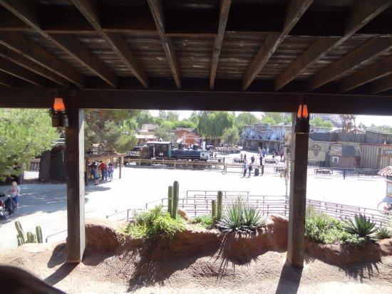 Buena Park, Kalifornia: Ambientacion del tren