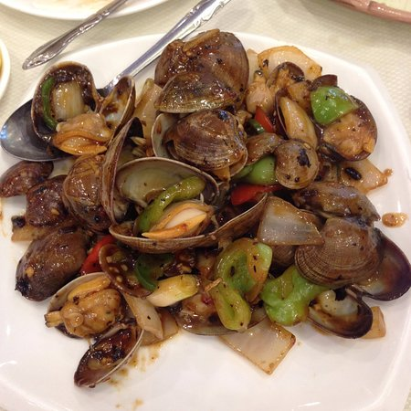 Alhambra, CA: clams with black bean sauce