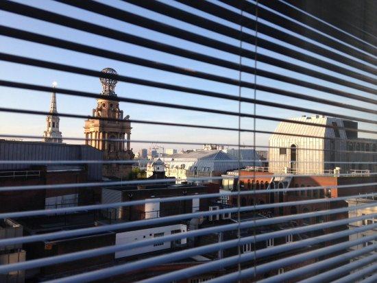 St Martins Lane London Hotel : Blick aus dem Zimmer 5. Stock traumhafter Ausblick
