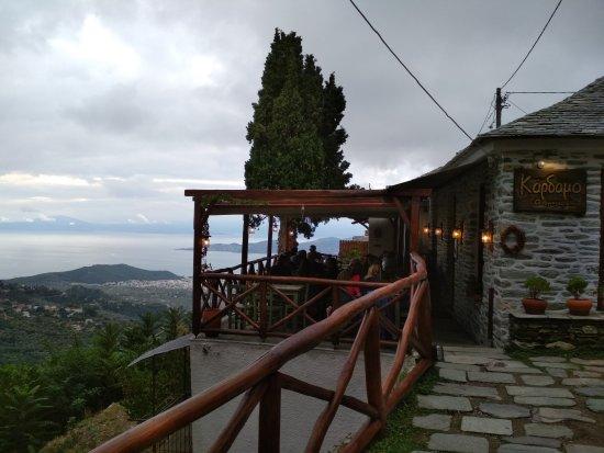 Makrinitsa, Grecia: Είσοδος