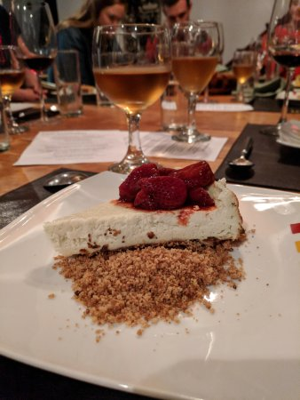 Casa SaltShaker: A sweet gorgonzola cheesecake (really).