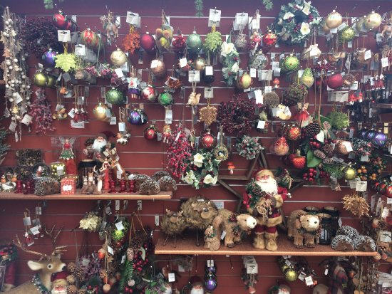 Garsons Garden Centre: Christmas decorations!