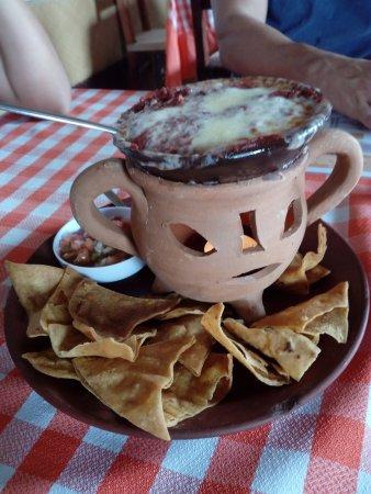 Ocotal, Никарагуа: Una entrada de frijoles, quesillo y chorizo... uhmmm