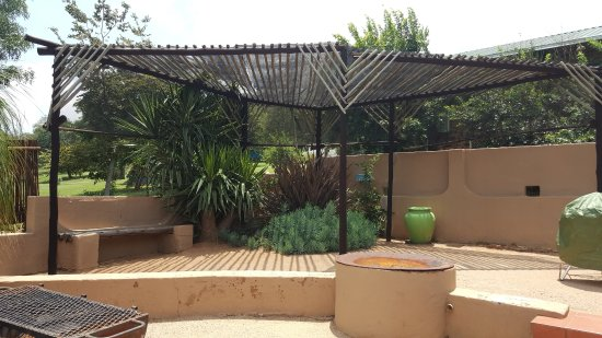 Magaliesburg, Sudáfrica: Bungalow 2 Braai area