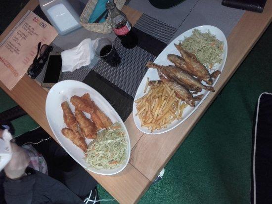 Kruklanki, Poland: smażone ryby