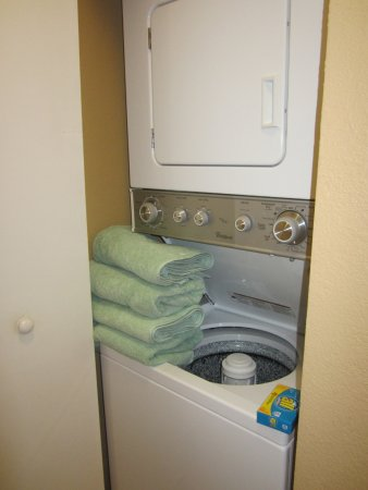 Genoa, NV: In room washer/dryer