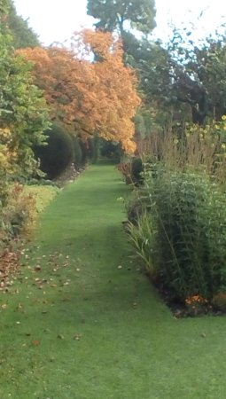 Holt, UK: Autumn colours at Courts gardens.