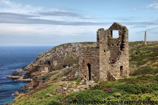 Zennor, UK: Poldark filming area
