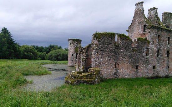 Dumfries, UK: Caerlaverock Castle