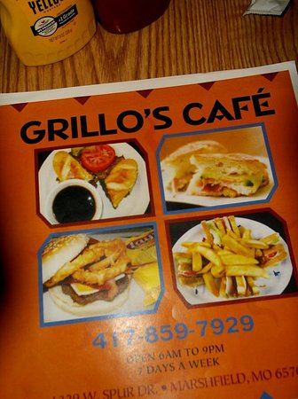 Marshfield, MO: Grillo's Cafe