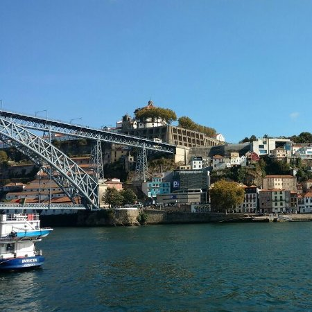 Pestana Vintage Porto : Vista do hotel Pestana Vintage Ribeira