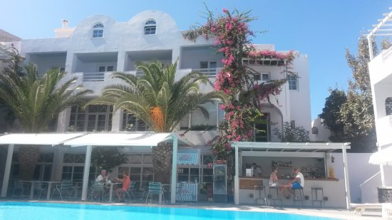 Afroditi Venus Beach Hotel & Spa: Bar-restaurante 2