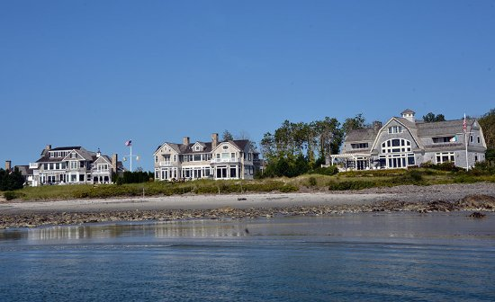 Kennebunkport, ME: Along the Kennebunk River, near the mouth of the Atlantic Ocean