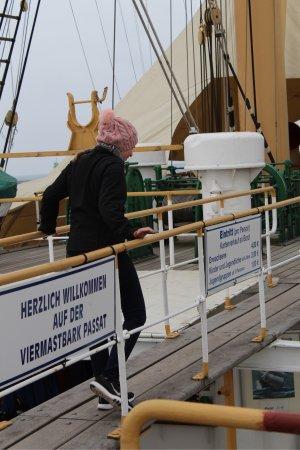 Maritimes Denkmal Passat