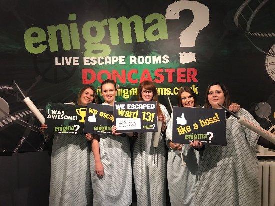 Enigma Escape Room Doncaster
