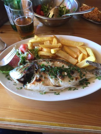 Excellent Fish Restaurant in Coral Bay