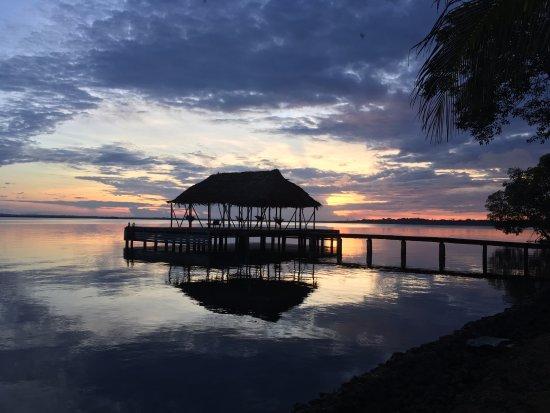 Isla San Cristobal, Panama: Hammock-dock
