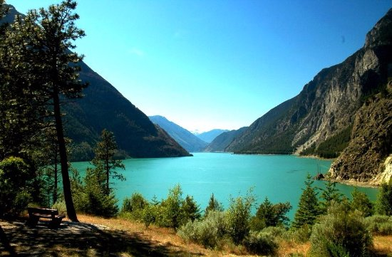 Lillooet, Canadá: Anderson Lake