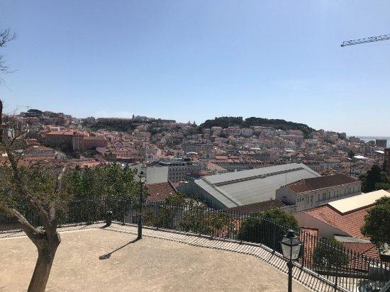 Miradouro São Pedro de Alcântara : Part of the view over the city