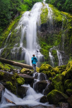Bend, OR: Proxy Falls